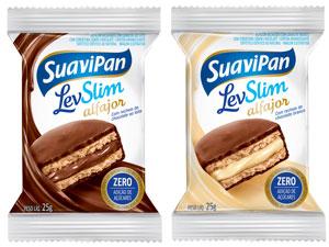 Lançamento da Suavipan embalagem com duas unidades.