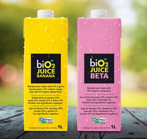Lançamento biO2 formulações orgânicas e vegetarianas, sem ingredientes artificiais.